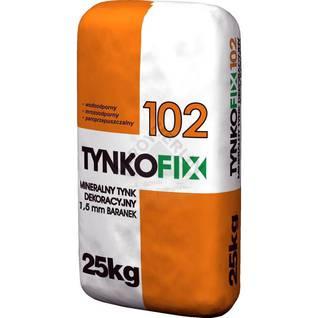 Tynk mineralny dekoracyjny biały TYNKOFIX