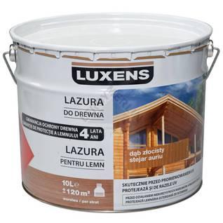 Lazura zewnętrzna do drewna LUXENS