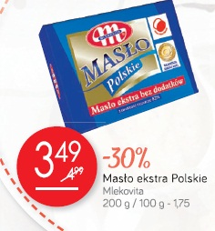 Masło ekstra Polskie Mlekovita