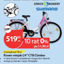"Rower miejski 24"" CTB Climber"