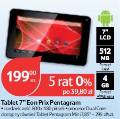Tablet 7'' Eon Prix Pentagram