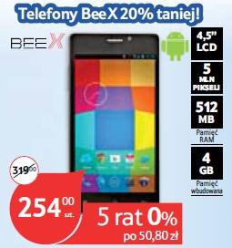 "Telefon BeeX Flare 4,5"""