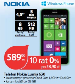 Telefon Nokia Lumia 630