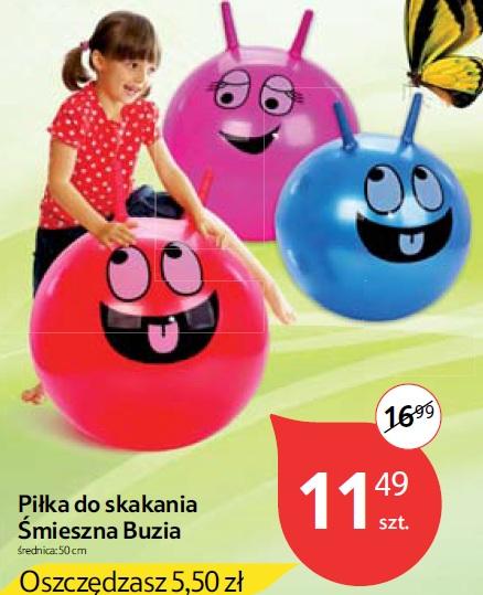 Piłka do skakania Śmieszna Buzia