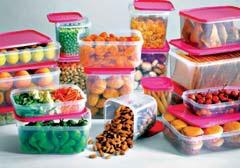 Zestaw pojemników na żywność TESCO 17 elementów