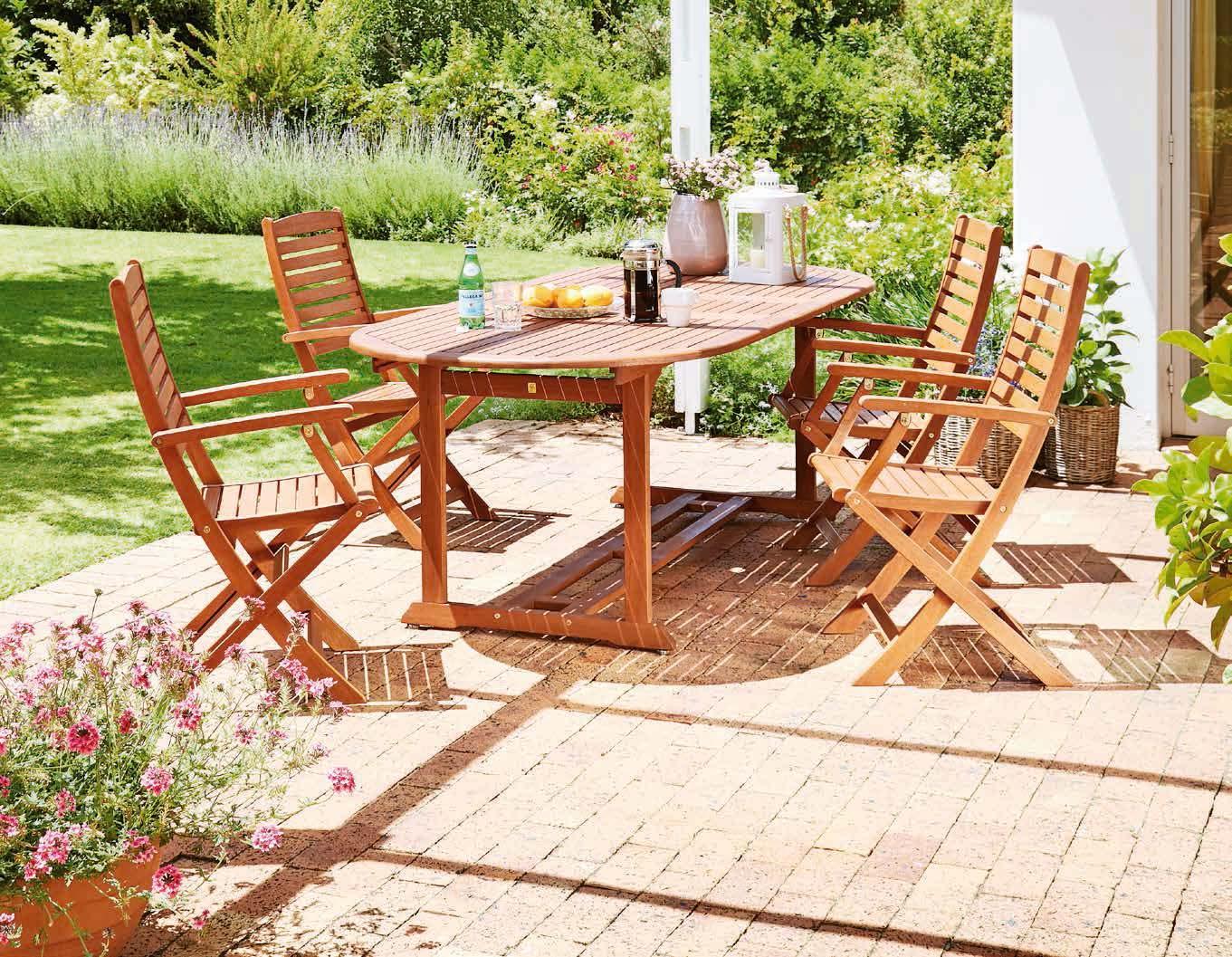 Stół Gamstad + 4 krzesła Kerteminde