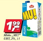 Mleko MU! UHT