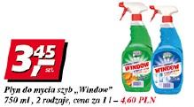 Płyn do mycia szyb Window