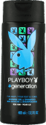 Playboy, generation men, żel pod prysznic i do mycia włosów