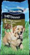 Winston, Trio Dinner, karma sucha dla psów drób z jarzynami i ryżem