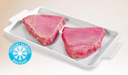 Stek z tuńczyka mrożony (cena 100 g)