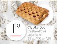 Ciastko Duo truskawkowe La Lorraine