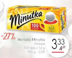 Herbata Minutka Mokate