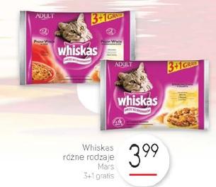 Whiskas różne rodzaje Mars