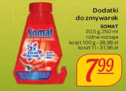 Dodatki do zmywarek Somat