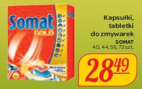 Kapsułki, tabletki do zmywarek Somat