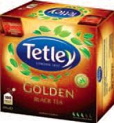 Herbata Tetley Intensive Black, Golden Black