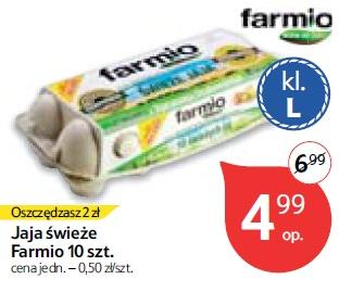 Jaja świeże Farmio 10 szt.