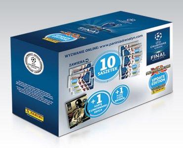 Pudełko kolekcjonera UEFA Champions League 2014/2015 ADRENALYN XL Update Edition