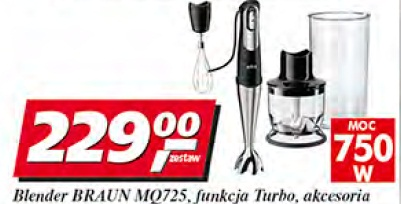 Blender Braun MQ725