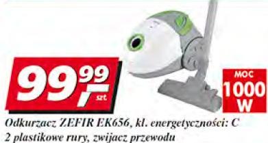 Odkurzacz Zefir EK656