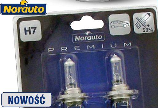 Zestaw żarówek 2 szt. Norauto Premium H7 Blue