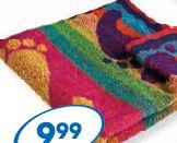 Bawełniany ręcznik na plażę, różne wzory i kolory, 68 x 137 cm