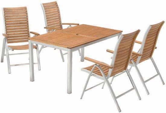 Stół Fjand + 4 krzesła Fjand