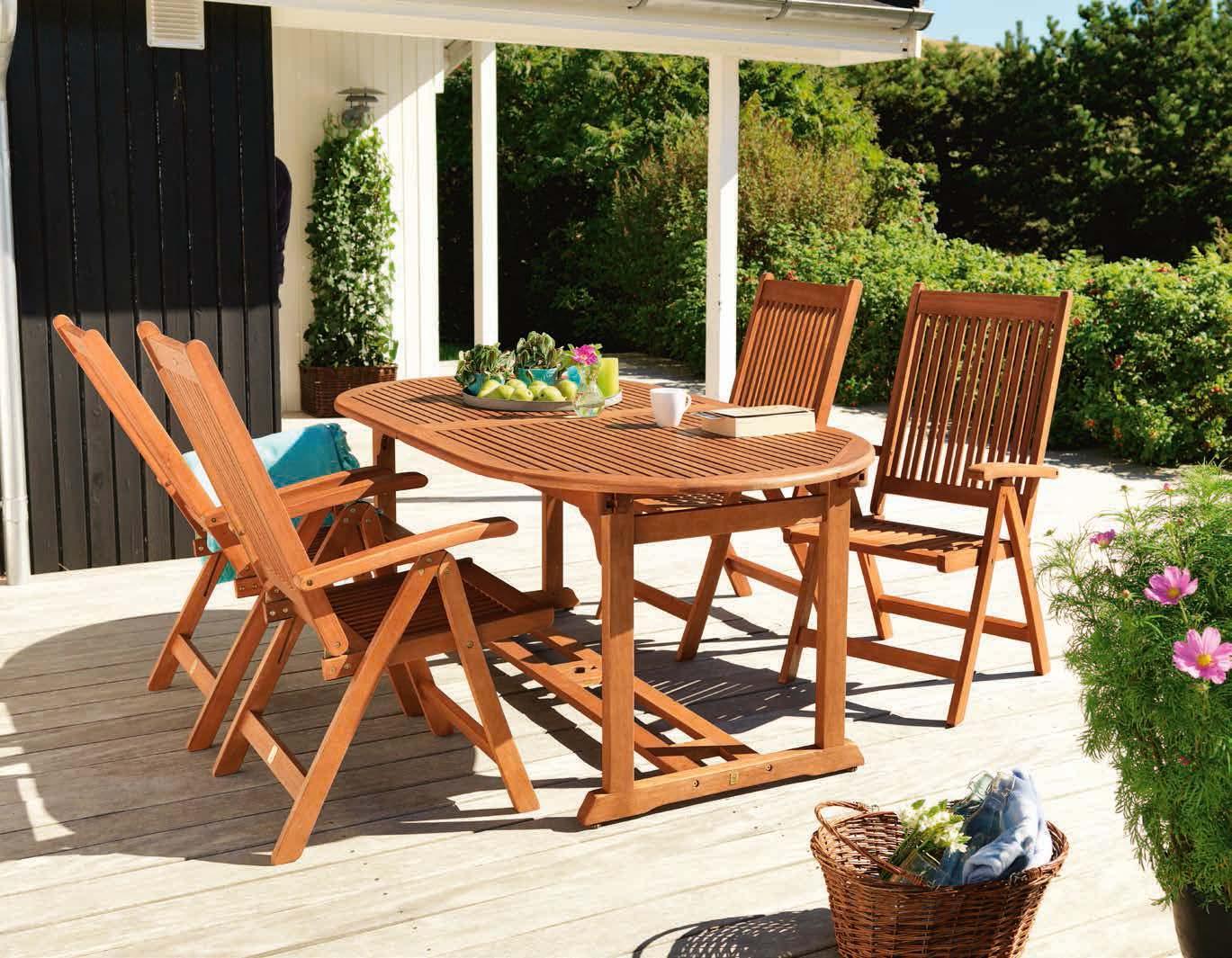 Stół Grimstad + 4 krzesła Kerteminde