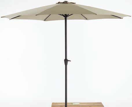 Parasol ogrodowy Agger