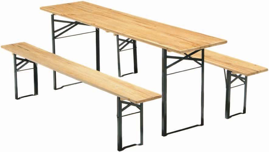 Komplet ławek Landskrona