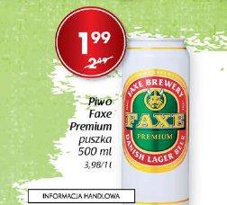 Piwo Faxe Premium