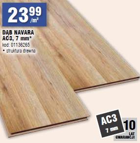 DĄB NAVARA AC3, 7 mm
