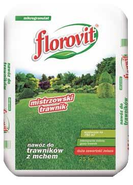 Florovit nawóz do trawników 25 kg cena