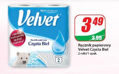 Ręcznik papierowy Velvet Czysta Biel