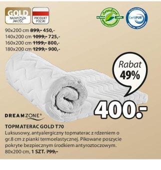 Top Materac Gold T70
