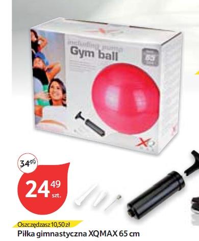Piłka gimnastyczna XQMAX 65 cm
