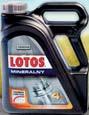 Olej silnikowy mineralny Lotos 15W-40 4 l