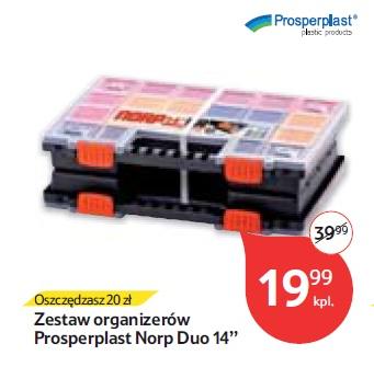 """Zestaw organizerów Prosperplast Norp Duo 14"""""""
