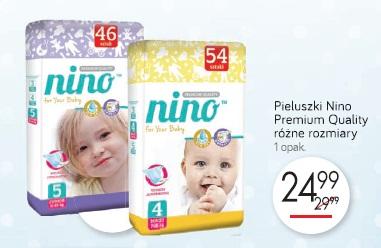 Pieluszki Nino Premium Quality różne rozmiary