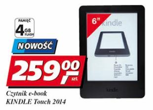 Czytnik e-book KINDLE Touch 2014