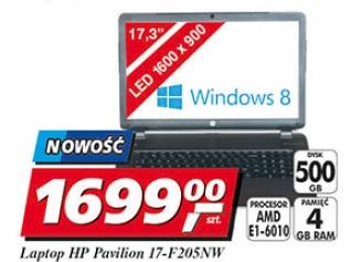 Laptop HP Pavilion 17-F205NW