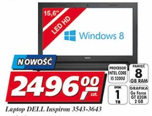 Laptop DELL Inspiron 3543-3643