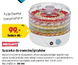 Suszarka do owoców/grzybów