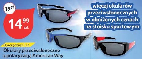 Okulary przeciwsłoneczne z polaryzacją American Way