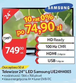 "Telewizor 24"" LED Samsung UE24H4003"