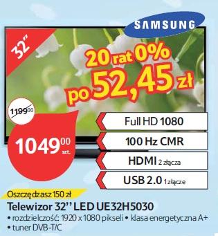 Telewizor 32'' LED UE32H5030