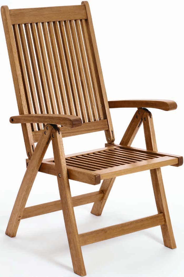 Krzesło 5-pozycyjne Karteminde