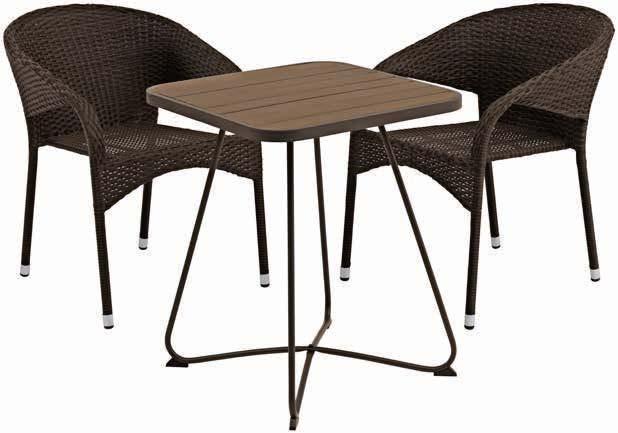 Stół Idre +   2 krzesła Arendal