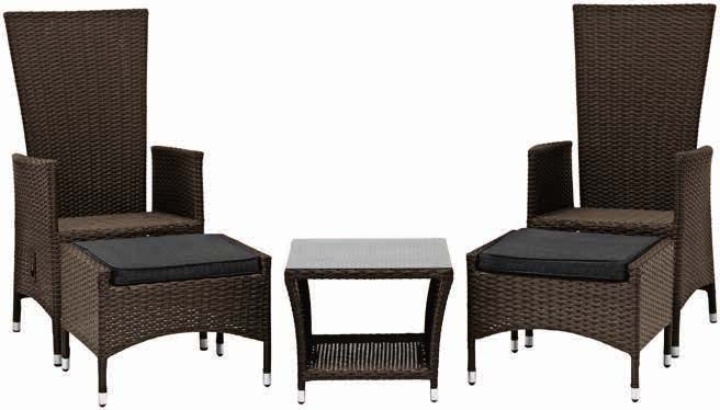 Stół Skive + 2 krzesła Skive